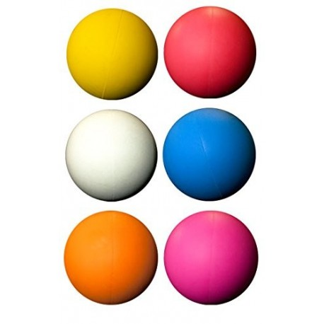 Colored Lacrose balls